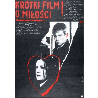 A Short Film About Love Krzysztof Kieslowski Andrzej Pągowski Polish Film Posters