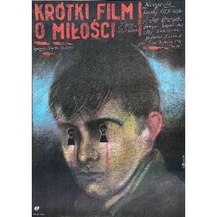 A Short Film About Love Krzysztof Kieślowski Andrzej Pągowski Polish Film Posters