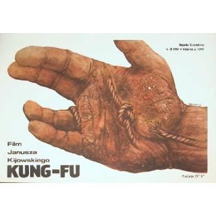 Kung-fu Janusz Kijowski Andrzej Pągowski Polish Film Posters