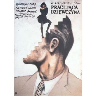Working Girl Mike Nichols Andrzej Pągowski Polish Film Posters