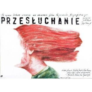Interrogation Ryszard Bugajski Andrzej Pągowski Polish Film Posters