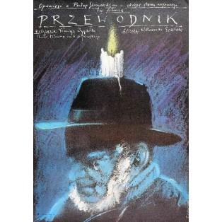 Guide Man Tomasz Zygadło Andrzej Pągowski Polish Film Posters