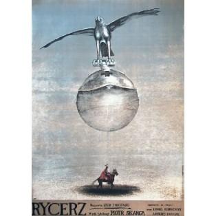 The Knight Lech Majewski Andrzej Pągowski Polish Film Posters