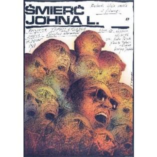 The Death of John L. Tomasz Zygadło Andrzej Pągowski Polish Film Posters