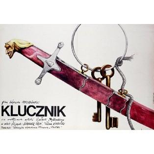Housemaster Wojciech Marczewski Andrzej Pągowski Polish Film Posters