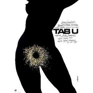 Taboo Andrzej Barański Andrzej Pągowski Polish Film Posters
