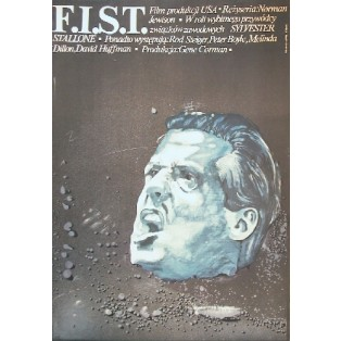 F.I.S.T. Norman Jewison Marek Płoza-Doliński Polish Film Posters