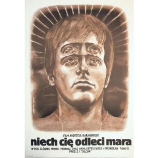 Haunted Andrzej Barański Marek Płoza-Doliński Polish Film Posters