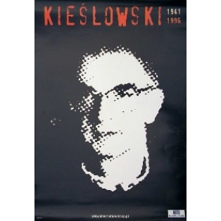 Krzysztof Kieślowski black Jan Bokiewicz Polish Film Posters