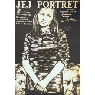 Her Portrait Mieczysław Waśkowski Antoni Chodorowski Polish Film Posters
