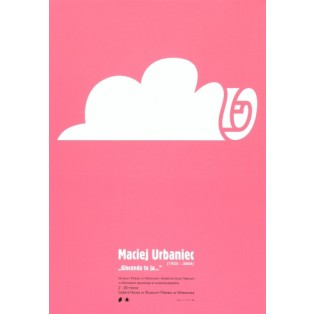 Maciej Urbaniec Gioconda, it's me Piotr Garlicki Polish Exhibition Posters