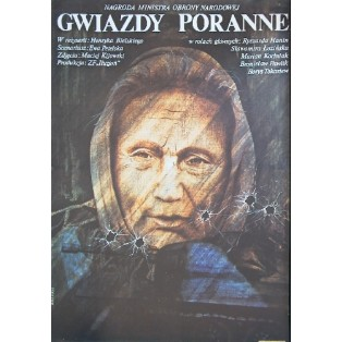 Morning stars Henryk Bielski Krystyna Hoffman-Pągowska Polish Film Posters