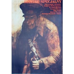 Otryad osobogo naznacheniya Vadim Lysenko Krystyna Hoffman-Pągowska Polish Film Posters