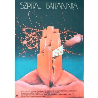 Britannia Hospital Lindsay Anderson Teresa Jaskierny Polish Film Posters