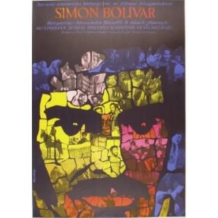 Simon Bolivar Alessandro Blasetti Tomasz Rumiński Polish Film Posters