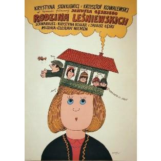 Lesniewski Family Janusz Leski Bohdan Butenko Polish Film Posters