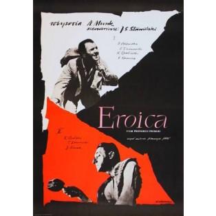 Heroism Eroica Andrzej Munk Roman Cieślewicz Polish Film Posters