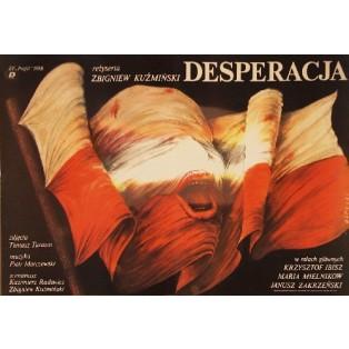 Desperation Zbigniew Kuźmiński Janusz Obłucki Polish Film Posters