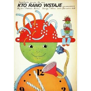 Kam doskace ranni ptace Drahomira Kralova Elżbieta Procka Polish Film Posters