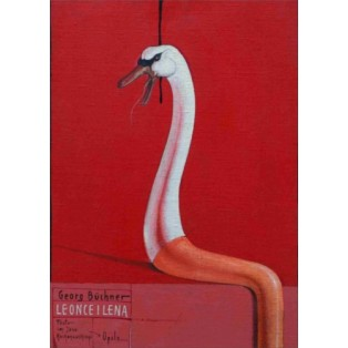 Leonce and Lena Bolesław Polnar Polish Theater Posters