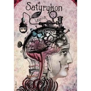 Satyrykon Kaja Renkas Polish Exhibition Posters