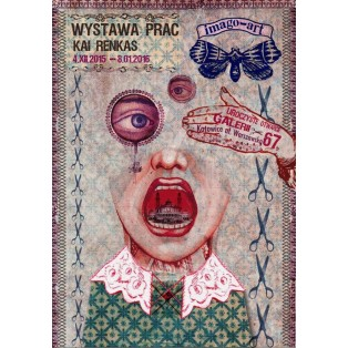 Imago-Art Kaja Renkas Polish Exhibition Posters