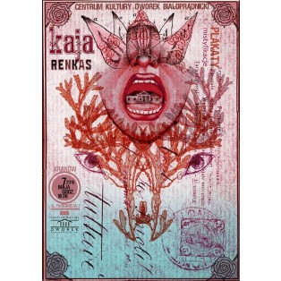 Posters, mistyfications Dworek Białoprądnicki Kaja Renkas Polish Exhibition Posters