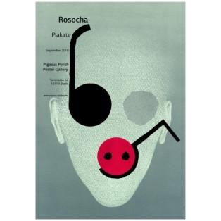 Rosocha Poster Wiesław Rosocha Polish Exhibition Posters