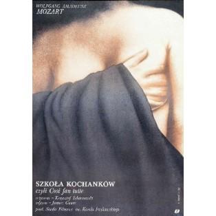 School of Lovers, Krzysztof Tchórzewski Wiesław Rosocha Polish Film Posters