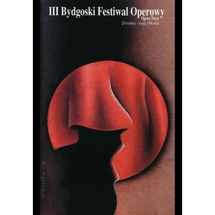 Opera Festival in Bydgoszcz, 3rd Wiesław Rosocha Polish Opera Posters