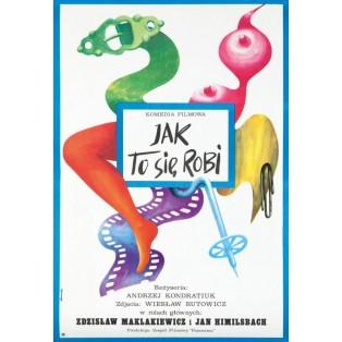 How it's done Andrzej Kondratiuk Tomasz Rumiński Polish Film Posters