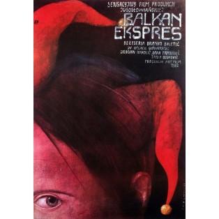Balkan Express Wiktor Sadowski Polish Film Posters