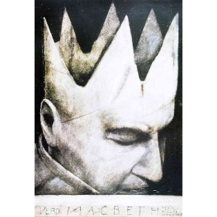 Macbeth - Verdi Wiktor Sadowski Polish Opera Posters