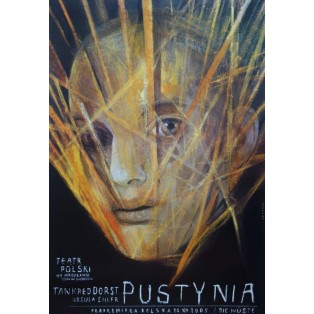 Die Wüste, Tankred Dorst Wiktor Sadowski Polish Theater Posters