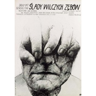 End of the Lonely Farm Berghof  Wiktor Sadowski Polish Film Posters