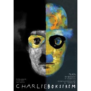 Charlie boxer Wiktor Sadowski Polish Theater Posters