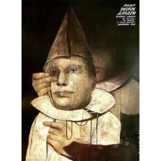 George Dandin ou le Mari confondu, Moliere Wiktor Sadowski Polish Theater Posters