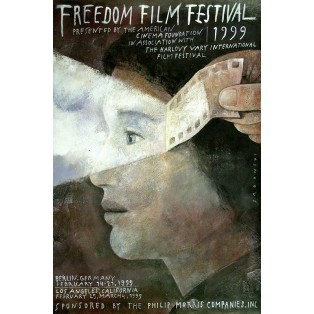 Freedom Film Festiwal Berlin Los Angeles, 1999 Wiktor Sadowski Polish Film Posters