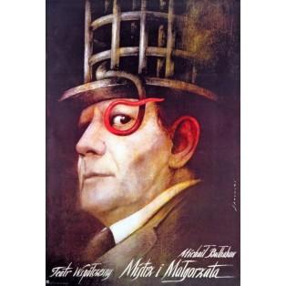 Master and Margarita Mikhail Bulgakov Wiktor Sadowski Polish Theater Posters