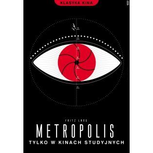 Metropolis Fritz Lang Joanna Górska Jerzy Skakun Polish Film Posters