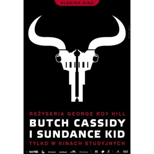 Butch Cassidy and the Sundance Kid George Roy Joanna Górska Jerzy Skakun Polish Film Posters
