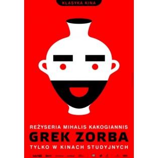 Alexis Zorbas Mihalis Kakogiannis Joanna Górska Jerzy Skakun Polish Film Posters