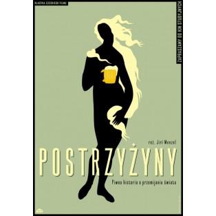 Short cut Jiri Menzel Joanna Górska Jerzy Skakun Polish Film Posters