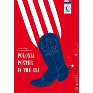 Polonia poster in USA Joanna Górska Jerzy Skakun Polish Exhibition Posters