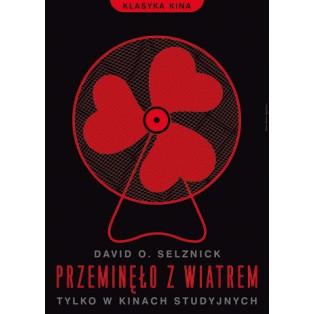 Gone with the Wind Victor Fleming Joanna Górska Jerzy Skakun Polish Film Posters
