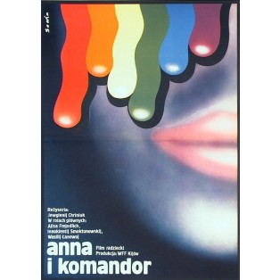 Anne and the Commodore Romuald Socha Polish Film Posters