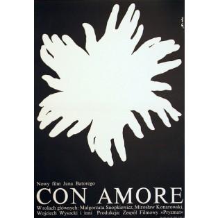 Con amore Romuald Socha Polish Film Posters
