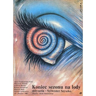 End of the Ice Cream Season Romuald Socha Polish Film Posters