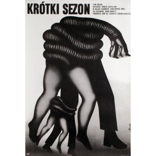 A Brief Season Romuald Socha Polish Film Posters