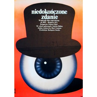 141 Minutes from the Unfinished Sentence Romuald Socha Polish Film Posters